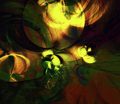 Digital Art - Emotion In Light Abstract by Georgiana Romanovna