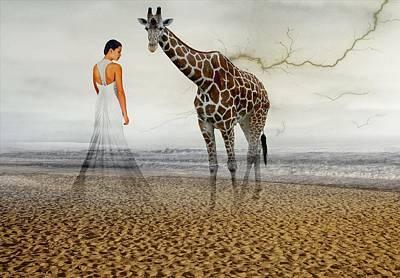 Emotional Bonding Art Print by Solomon Barroa