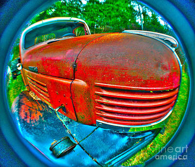 Photograph - Emotional Mopar by Clayton Bruster