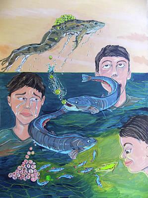 Painting - Emotional Range by Lazaro Hurtado