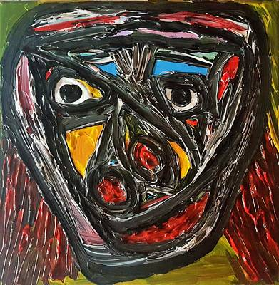 Painting - Emotional React by Darrell Black