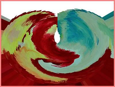 Digital Art - Emotional Stream by Sonali Gangane
