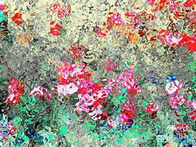 Vibrant Mixed Media - Emotional Ties by GabeZ Art