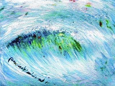 Painting - Emotional Waves by Wanvisa Klawklean