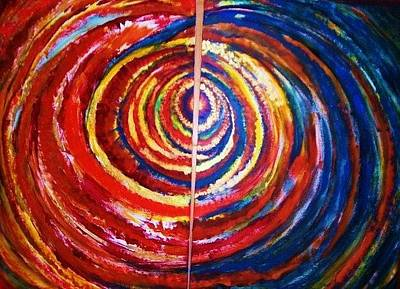 Painting - Emotional Whirl by Rae Chichilnitsky
