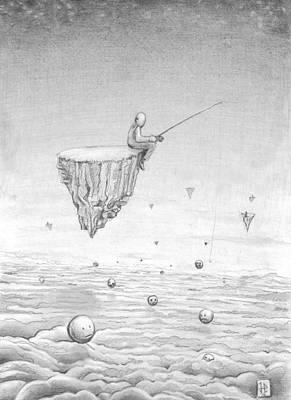 James Parker Drawing - Emotionless by James Parker