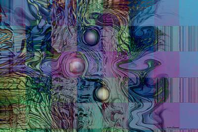 Emotional Blocks Digital Art - Emotions Block by Linda Sannuti