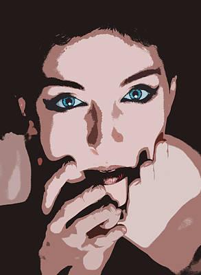 Shock Mixed Media - Emotive Pop Art by Solomon Barroa