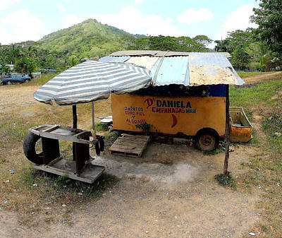 Food Photograph - Empanada Stand by Brian Manfra