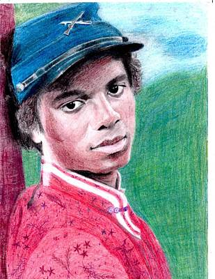 Michael Jackson Drawing Drawing - Empathetic by Cassy Allsworth