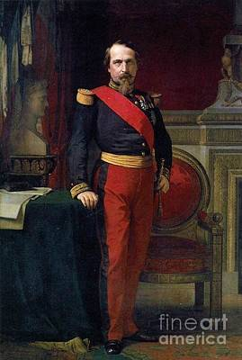 Flandrin Painting - Emperor Of France by MotionAge Designs