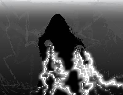 Lightning Digital Art - Emperor Palpatine by Nathan Shegrud