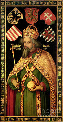 Bohemia Painting - Emperor Sigismund by MotionAge Designs