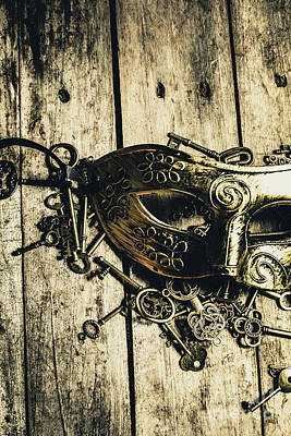 Lock Photograph - Emperors Keys by Jorgo Photography - Wall Art Gallery