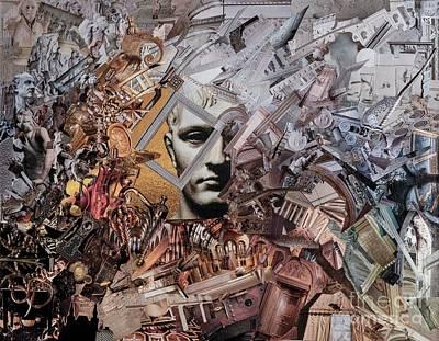 Mixed Media - Empire by Andrea Ignacio