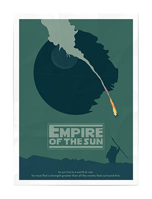 Scary Digital Art - Empire Of The Sun by Fine Artist
