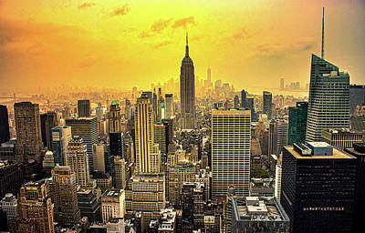City Scenes Royalty-Free and Rights-Managed Images - Empire of The Sun by Martin Newman
