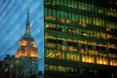 Photograph - Empire Reflections by David Cote