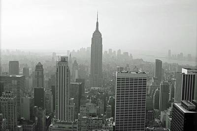 Photograph - Empire State Building 03 Bw - New York by Pamela Critchlow