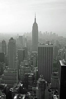 Photograph - Empire State Building 04 Bw - New York by Pamela Critchlow