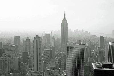 Photograph - Empire State Building 05 Bw - New York by Pamela Critchlow