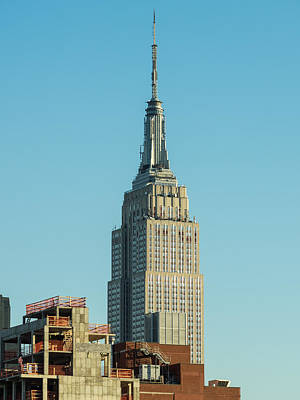 Photograph - Empire State Building by Alan Roberts