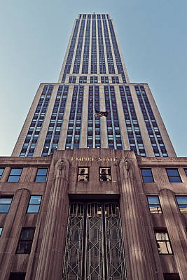 Empire State Building Art Print by Benjamin Matthijs