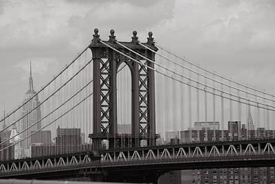 Empire State Building Original by David  Rusch