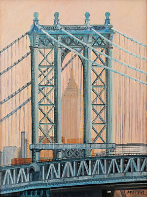 Painting - Empire State Building by Jean-Pierre Ducondi