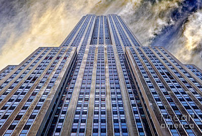 Central Park Photograph - Empire State Building  by John Farnan