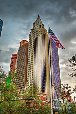 Photograph - Empire State Building Las Vegas by David Zanzinger