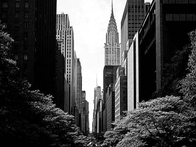 Photograph - New York View by M G Whittingham