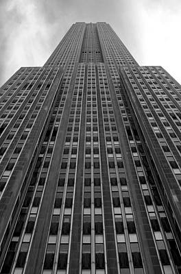 Empire State Building Art Print by Mandy Wiltse