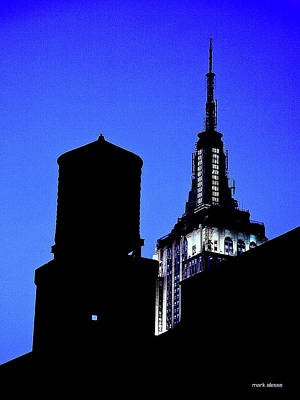 Photograph - Empire State Building by Mark Alesse