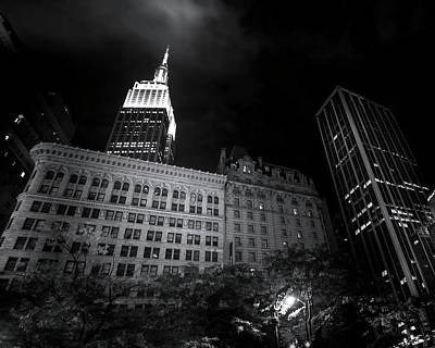 Photograph - Empire State Building by Mark Andrew Thomas