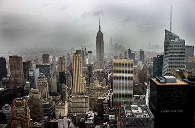 Skylines Royalty-Free and Rights-Managed Images - Empire State Building by Martin Newman
