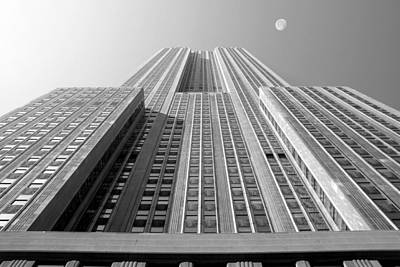 Empire State Building Digital Art - Empire State Building by Mike McGlothlen