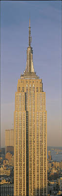 Empire State Photograph - Empire State Building New York Ny by Panoramic Images