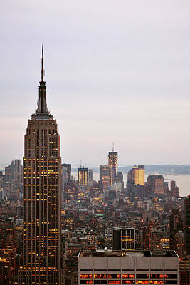 Empire State Building No.2 Art Print by Zawhaus Photography