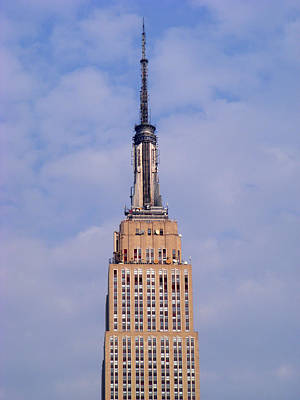 Empire State Building Observatory Art Print by Margie Avellino