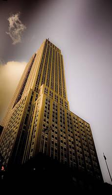 Empire State Building Art Print by Patrick  Flynn