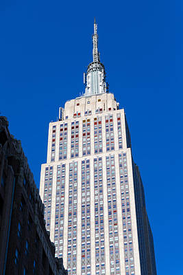 Photograph - Empire State Building by SR Green