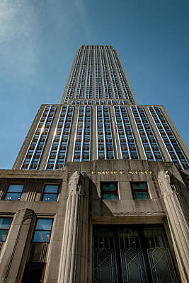 Photograph - Empire State Building by Teresa Wilson