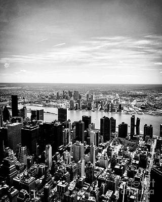 Photograph - Empire State Building View, Nyc by JMerrickMedia