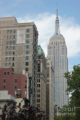 Photograph - Empire State Building by Wilko Van de Kamp