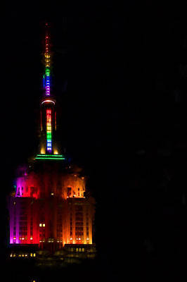 Photograph - Empire State Colours by Alice Gipson