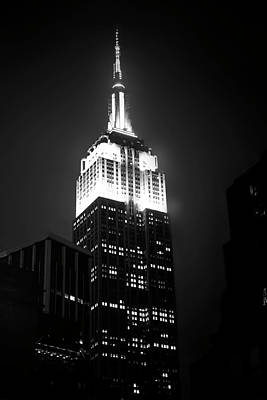 Photograph - Empire State by Mark Andrew Thomas