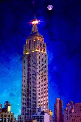 Painting - Empire State by Mark Taylor