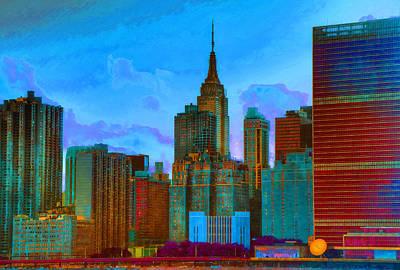 Empire State Of Dreams Original by Mike  Deutsch