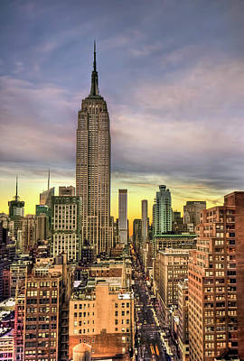 Royalty-Free and Rights-Managed Images - Empire State of Mind by Evelina Kremsdorf